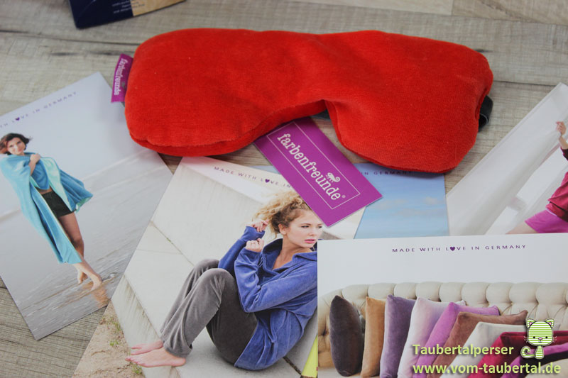 Farbenfreunde, Taubertalperser, Produktvorstellung, Textilien, Wellness, Entspannung