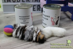 Kaninchefelle, Taubertalperser, Konsument, Fleischverwertung, Katzenfutter, Katzenspielzeug, Kuschelhöhlen