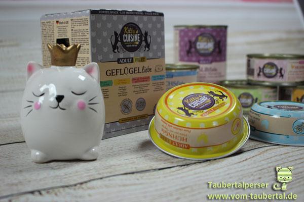 Kittys Cuisine Hühnerliebe, Taubertalperser, Futtertest, Katzenfutter im Test, Katzen, Ernährung