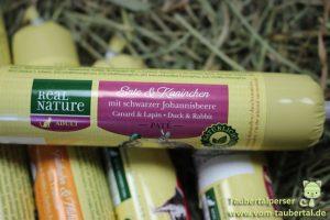 Real Nature Katzenwurst, Taubertalperser, Katzenfuttertest, Futterterst