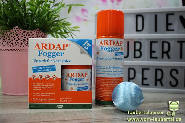Ardap Fogger Taubertalperser Produktvorstellung Produkttest Permethrin