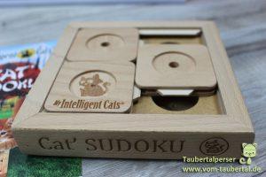 Cat Sudoku®, Taubertalperser, Produktvorstellung, MyintelligentCats, Produkttest, Dividi, unabhängig, frei, unbestechlich