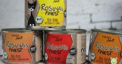 Rosina Finest, Leibgericht, Katzenfutter im Test, Futtertest, Taubertalperser