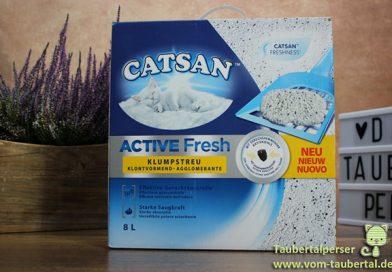 Catsan Active Fresh, Klumpstreu, Taubertalperser, Katzenstreutest, unabhängiger Katzenblog