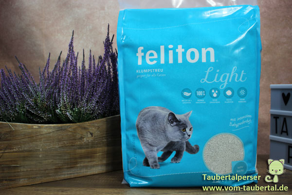 Feliton light, Katzenstreu, Taubertalperser, unabhängiger Katzenblog