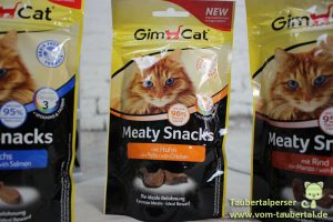 GimCat Meat, Gimcat Fishy, Ta