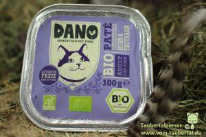 Dano, Petfood, Katzenfutter, Taubertalperser, Katzenfuttertest, unabhängiger Katzenblog, unabhängiger Futtertest
