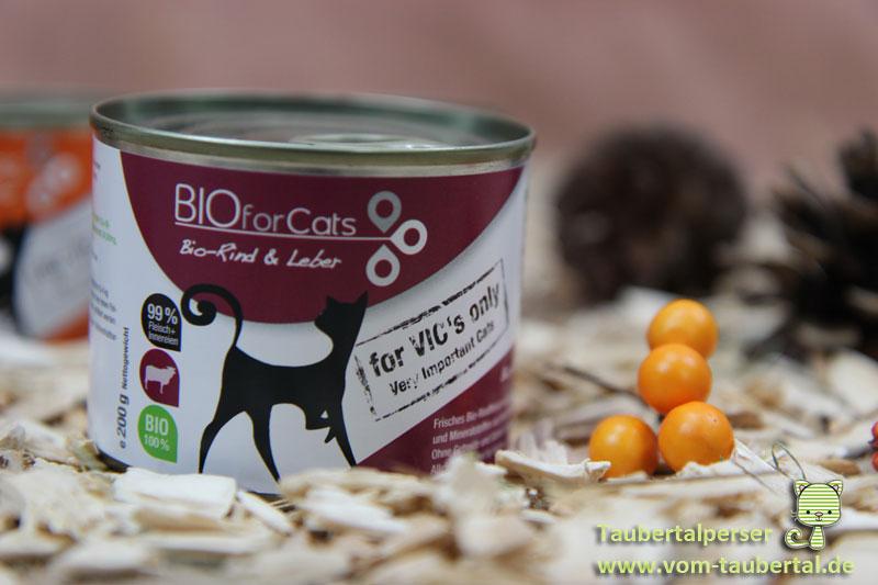 BioForCats, Katzenfuttertest, Katzenernährung, unabhängiger Futtertest, Taubertalperser