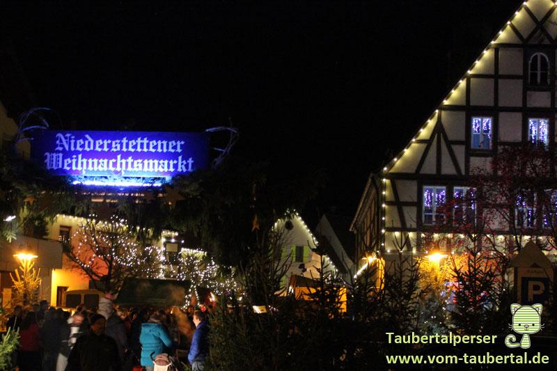 Märchenhafte Weihnachtsmarkt, Rathaus Niederstetten, Taubertalperser, Weihnachtsmärkte