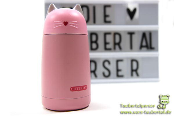 Cute Cat Taubertalperser Thermoskanne, Produkttest