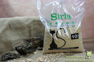 Siria Katzenstreu, Taubertalperser, Katzenblog, Katzenstreutest, Produkttest, Review, Follador