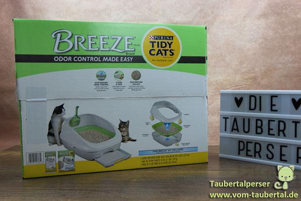 Tidy Cats Breeze, Purina, Taubertalperser, Katzenblog, Produkttest, Review