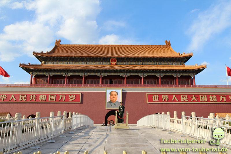 Beijing, China, Taubertalperser, Travel, Reisen, Platz des himmlischen Friedens