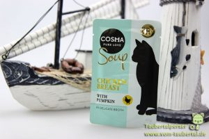 Cosma Soup, Taubertalperser, Zooplus, Katzenfuttertest, unabhängiger Futtertest, Katzenernährung, Katzenblog