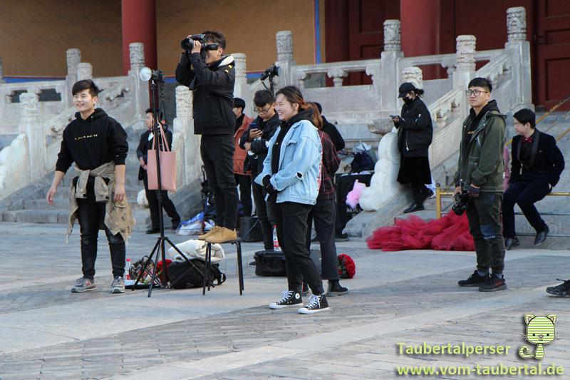 Fotoshooting, Beijing, Taubertalperser, China, Personen, Fotografie