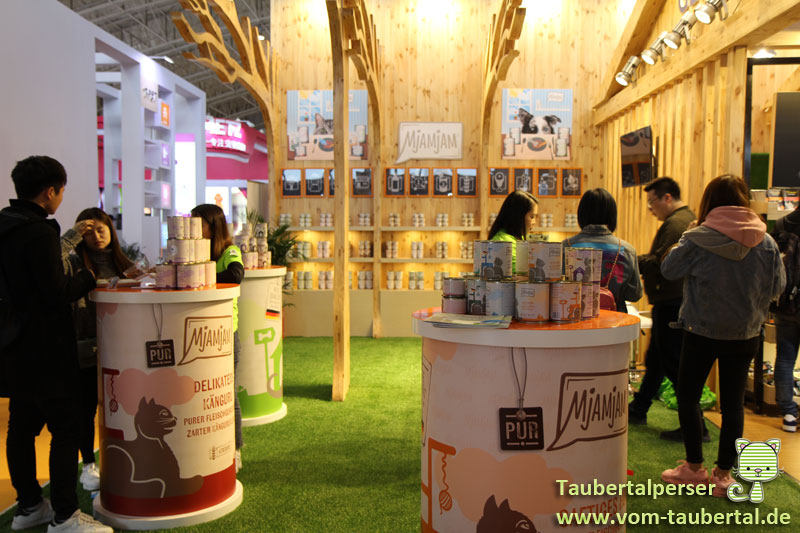 Beijing, Taubertalperser, China Pet Expo 2019. CPE 2019, China, Mjamjam Petfood