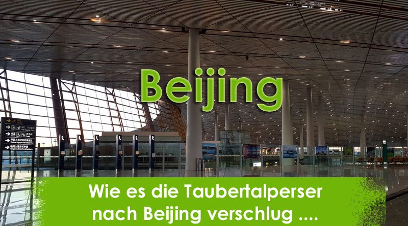 Beijing, Taubertalperser, Reisen, Travel, China,