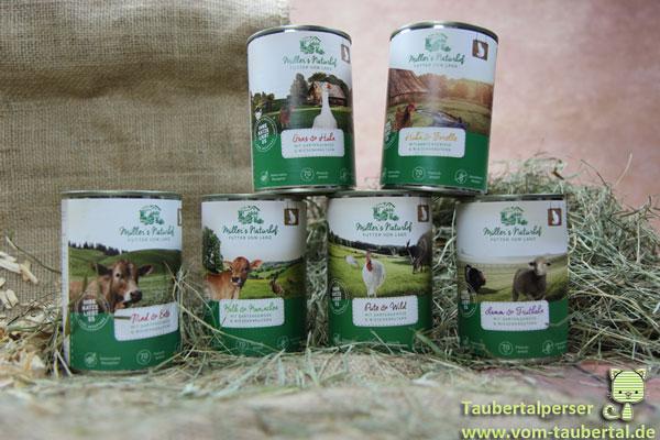 Müllers Naturhof, Taubertalperser, unabhängiger Katzenfuttertest, Futtertest, Katzenfutter