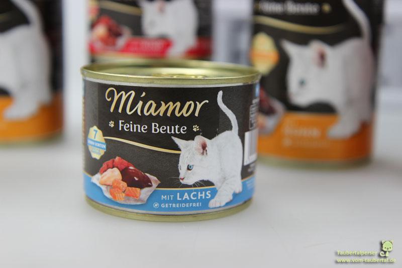 Miamor Feine Beute, Katzenfutter, Katzenfuttertest, Taubertalperser, unabhängiger Katzenblog