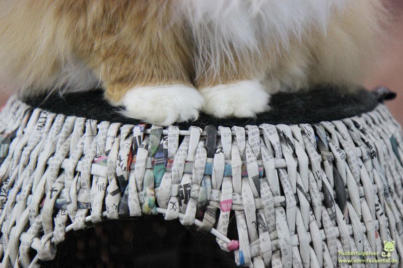 Katzenhoehle Newspaper Mirror, Produktvorstellung, Taubertalperser, Katzenblog, Produkttest