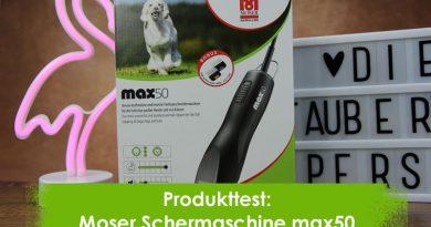 Produkttest, Katzenblog, Taubertalperser, Schermaschine, Moser max 50
