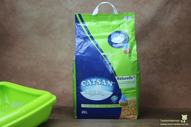 Catsan Naturelle Plus, Taubertalperser, Katzenstreu, Katzenstreutest, Katzenblog