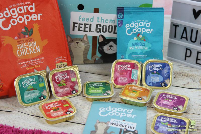 Edgar & Cooper, Taubertalperser, Katzenfuttertest, Futtertest, unabhängiger Katzenblog, Bio, Belgien, Kölle Zoo