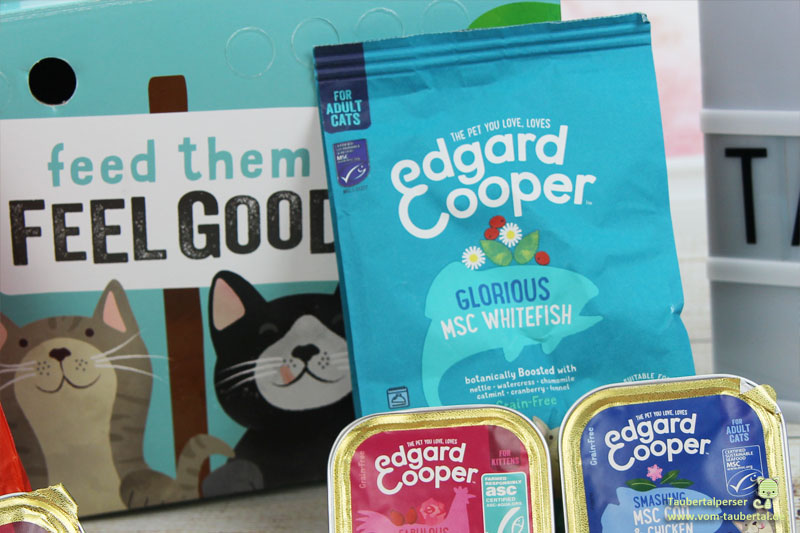 Edgar & Cooper, Taubertalperseer, Katzenfuttertest, Futtertest, unabhängiger Katzenblog, Taubertalperser, Bio