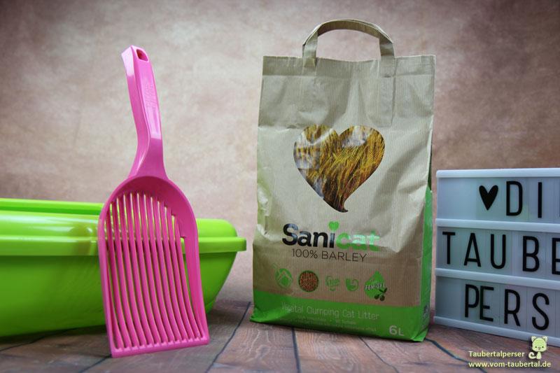 Sanicat Barley, Taubertalperser, Öko-Streu, Katzenstreu, unabhängiger Katzenblog