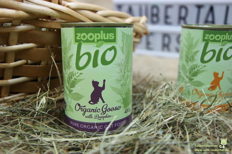 Zooplus, Bio-Katzenfutter, Katzenfuttertest, Taubertalperser, Katzenblog