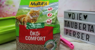 Multifit, Öko-Katzenstreu, Öko-Komfort Katzenstreu, Multifit, Taubertalperser, Katzenblog, unabhängiger Katzenblog