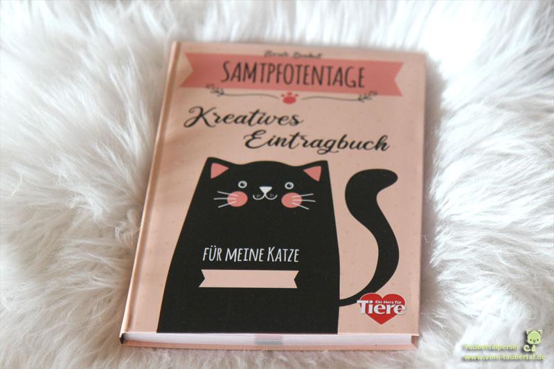 Samtpfotentage, Kreatives Eintragbuch, Taubertalperser, Katzenbuch, Katzenblog, Taubertalperser