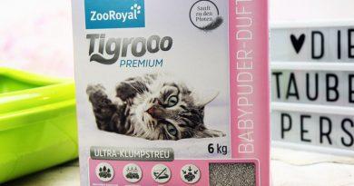 Tigroo Katzenstreu, Ultrakatzenstreu, Kateznblog, Taubertalperser, Katzenstreu, unabhängiger Streutest
