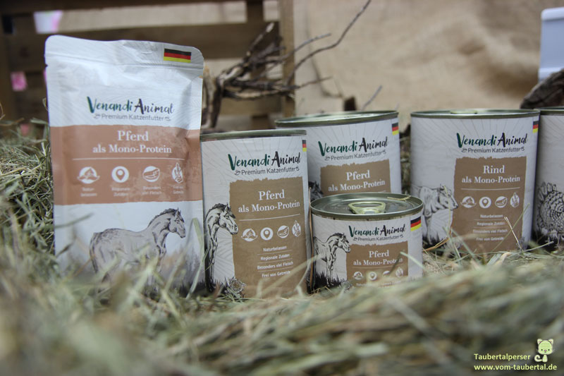 Venandi Animal, Taubertalperser, Premium-Katzenfutter, Katzenfuttertest, unabhängiger Futtertest, Katzenblog