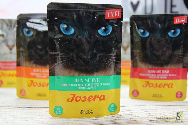 Josera, Katzennassfutter, Futtertest, Katzenfuttertest, Taubertalperser, unabhängiger Katzenblog