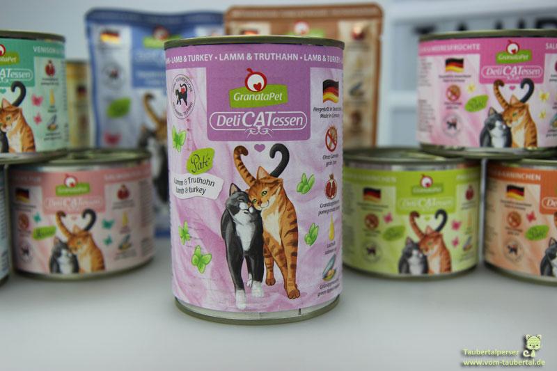 Granatapet, DeliCatessen, Taubertalperser, Katzenfuttertest, Katzenblog
