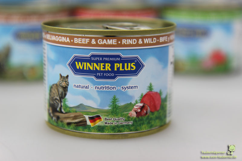 Winnern Plus, Katzenfuttertest, Futtertest, Katzenfutter im Test, Taubertalperser