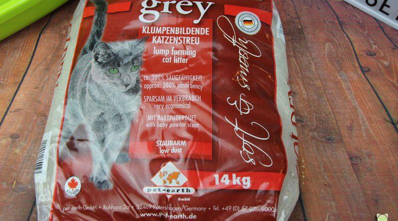 Golden Grey, Katzenstreu, Streutest, Taubertalperser, Katzenblog