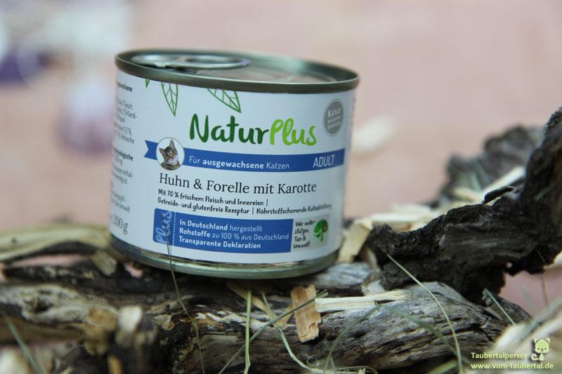 NaturPlus, Futterhaus, unabhängiger Katzenfuttertest, Futtertest, Katzenblog, Taubertalperser