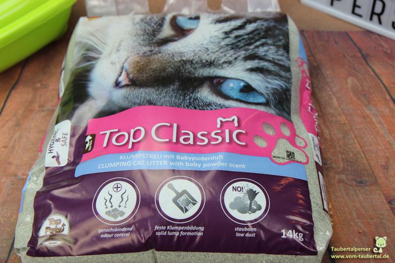 Top Classic, Top Pets, Taubertalperser, Katzenstreutest, unabhängiger Katzenblog