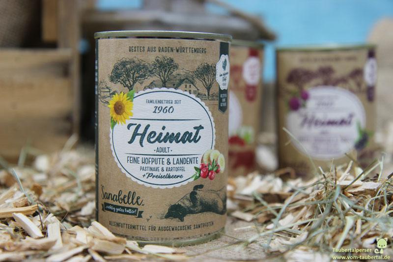 Katzenfutter Heimat Bosch Sanabelle Hofpute und Landente