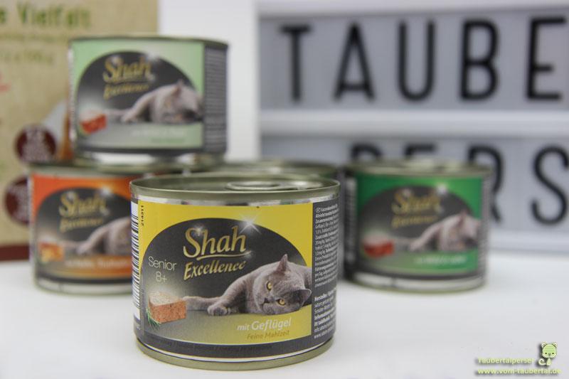 Shah Exclusive Katzenfuttertest Taubertalperser
