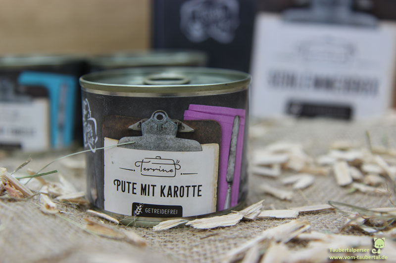 Tasty Cat Terrine Pute mit Karotte