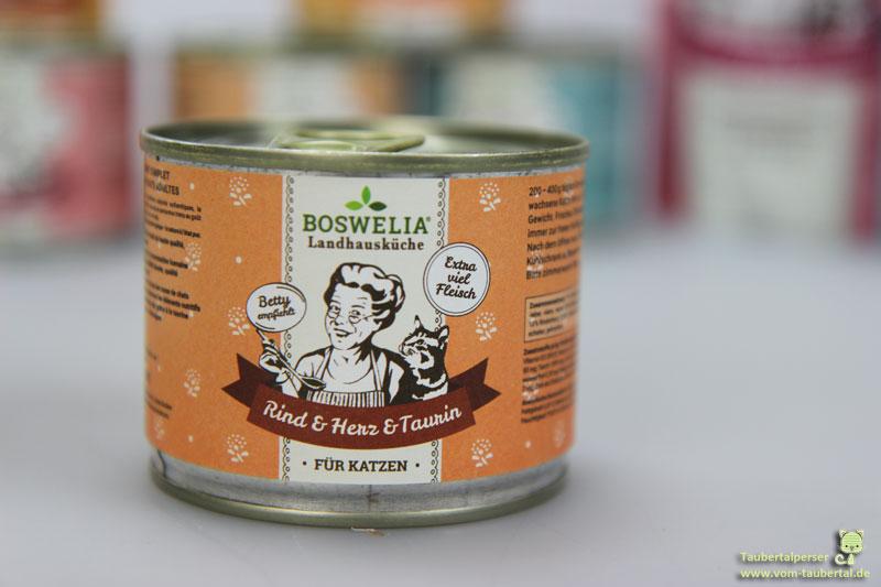Boswelia Landhausküche Katzenfuttertest