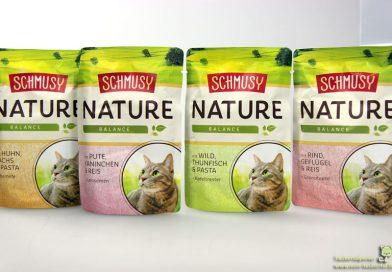 Schmusy Nature Balance und Vitalflackes, Katzenfuttertest, Futtertest, Katzenfutter