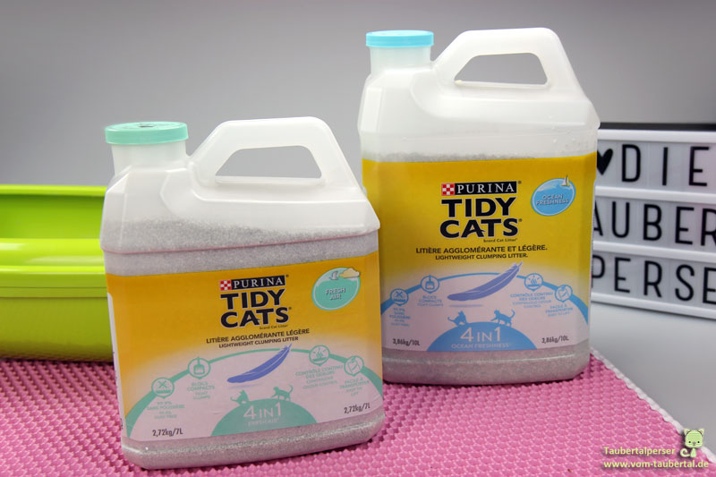 Tidy Cats Lightweight Katzenstreu, Katzenstreutest, Streutest, Katzenstreu, Taubertalperser