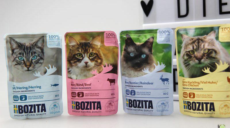 Bozita, Beutel, Katzenfuttertest, Futtertest, Taubertalperser, Katzenblog