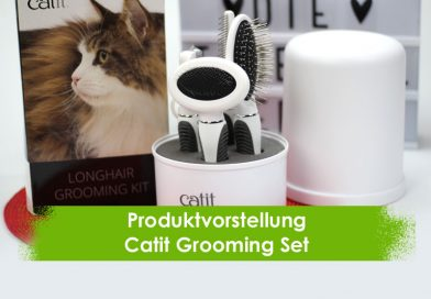 Catit Pflegeset, Groomingset, Produktvorstellung, Taubertalperser, Katzenblog, Fellpflege