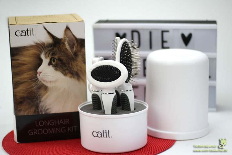 Catit, Pflegeset, Groomingset, Produktvorstellung, Taubertalperser, Katzenblog, Fellpflege