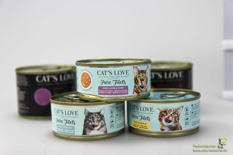 Cats Love Filet, Katzennassfutter, Katzenfutter, Taubertalperser, Katzenblog, Katzenfuttertest